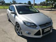 2011 Ford Focus LW Titanium PwrShift Silver 6 Speed Sports Automatic Dual Clutch Sedan Nailsworth Prospect Area Preview