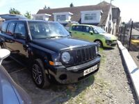 2010 JEEP PATRIOT 20 TDi 4X4 140,000 Miles MOT'd MARCH 19 £2795