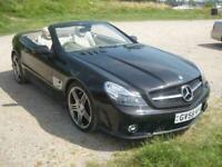 2009 (63) Mercedes SL 63 AMG Auto, 6208cc Petrol, Semi-Automatic, Convertible