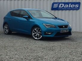 Seat Leon 2.0 TDI FR 5Dr [technology Pack] Hatchback (alor blue) 2015