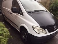 Mercedes Vito, Day Van, FSH, Low Miles