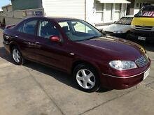 2005 Nissan Pulsar N16 MY2004 ST-L Burgundy 5 Speed Manual Sedan Park Holme Marion Area Preview