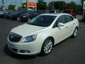 2014 BUICK VERANO BASE- SUNROOF, LEATHER INTERIOR, REAR VIEW CAM