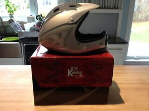 Bicycle helmet, with box never used Kumbat Full Face