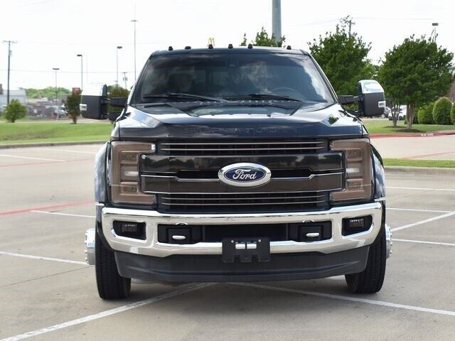 Owner 2017 Ford F-450SD King Ranch DRW 51362 Miles Shadow Black Pickup Truck 8 Automat