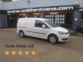 2013 Volkswagen Caddy Maxi Highline 1.6TDi 102ps *A/C*Cruise*Alloys*Bluetooth* D