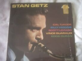 Vinyl LP Stan Getz Sextet America 6069 Stereo 7 Good Tracks