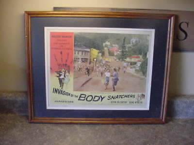 Original Invasion of the Body Snatchers Lobby Card 1956