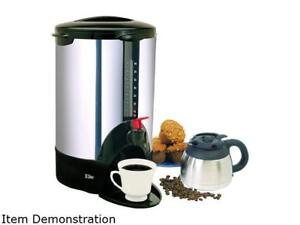 Maxi-Matic CCM-30 Elite Cuisine 30 Cup Stainless Steel Coffee Urn
