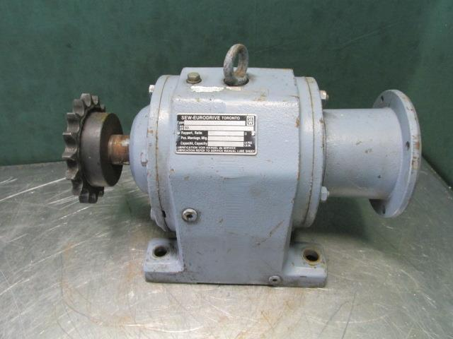 Sew Eurodrive 59.28:1 Ratio Inline Gearbox Helical Speed Reducer Type P73LP
