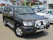 2003 Toyota Landcruiser UZJ100R GXL Black 5 Speed Automatic Wagon Gepps Cross Port Adelaide Area Preview