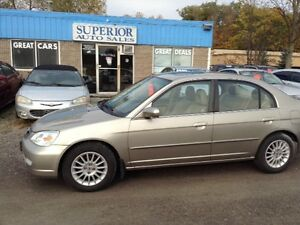 2003 Acura EL Premium w/Aero Pkg Fully Certified and Etested!