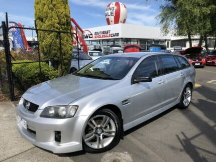 2009 Holden Commodore VE MY09.5 SV6 Sportwagon Silver 5 Speed Sports Automatic Wagon Seaford Frankston Area Preview