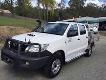 2011 TOYOTA HILUX 4X4 DUAL CAB TURBO DIESEL MANUAL (NEW FRONT) Rochedale South Brisbane South East Preview