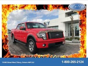 2011 Ford F-150 FX4, Customized, Leather, One Owner!!