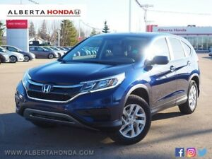 2015 Honda CR-V SE. ECO. Low Kms. One Owner. Heated Seats. Remot