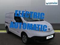 2014 Nissan e-NV200 Acenta Rapid Van Auto Electric white Automatic