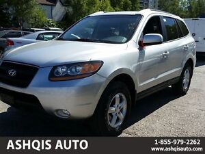 2008 Hyundai Santa Fe GL 5-Pass AWD Leather Sunroof