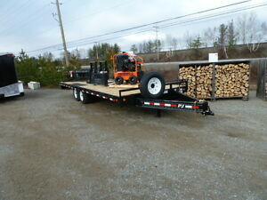 #1039 (new) 2016 P.J. Overdeck Trailer 24ft.