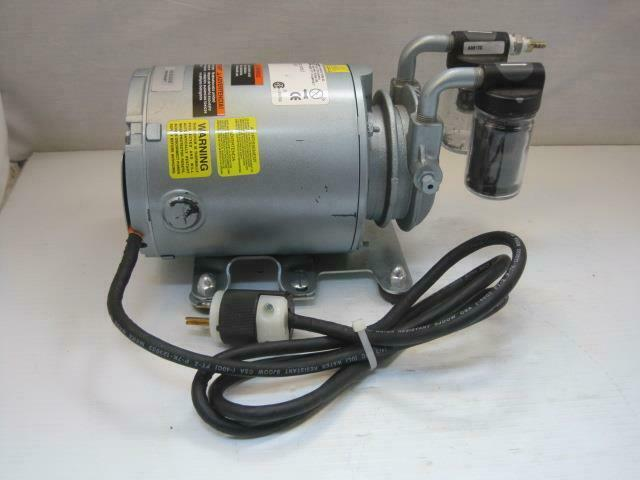 13765 GAST Vacuum Pump 0211-143-G8CX Good Used Condition