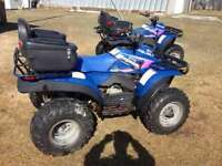 Want to traid 3 atvs for diesel truck or sled