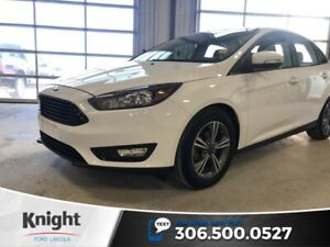 2017 Ford Focus SE, Auto, Back up Cam, Certified, Great on Fuel!