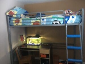 Children's Twin Loft Bed for sale