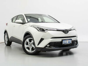 2018 Toyota C-HR NGX50R Update (AWD) White Continuous Variable Wagon Jandakot Cockburn Area Preview