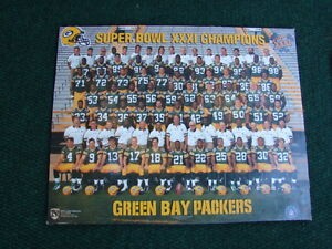 Super Bowl XXXI Champions-Green Bay Packers