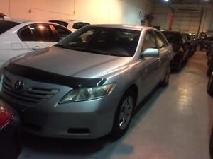 2007 TOYOTA CAMRY 4C LE, ALLOYS, AUTO, SILVER, POWER, AUX INPUT!