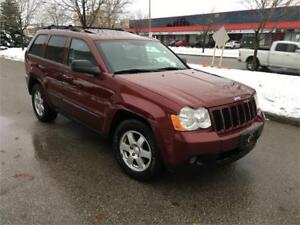 2008 JEEP GRAND CHEROKE DIESEL LEATHER SUNROOF NO ACIDENT LAREDO