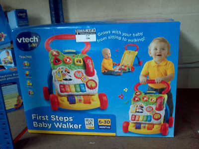 See the bottom of this box, this walker is suitable from 6-30 months