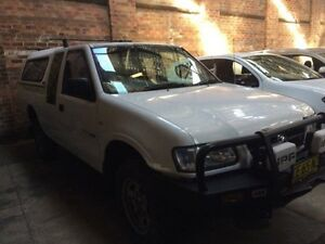 2002 Holden Rodeo TFR9 MY02 LX (4x4) White 5 Speed Manual Space Cab P/Up Georgetown Newcastle Area Preview