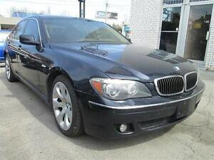2006 BMW 750I 155KM/LUXURY PACKAGE/FOR SALE AS IS.