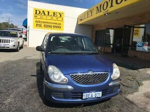 2002 Daihatsu Sirion M100RS GTVi Automatic Hatchback Armadale Armadale Area Preview