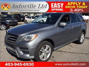 2013 MERCEDES ML350 NAVIGATION BACKUP CAMERA 90 DAYS NO PAYMENT