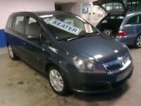 2007 57 reg Vauxha Zafira ( 7 seater ) 1.9CDTi ,,6 peed.. 120ps Life