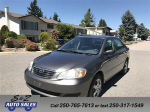 2006 Toyota Corolla CE Local one owner!