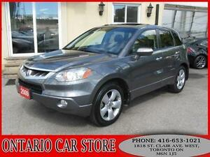 2009 Acura RDX SH-AWD LEATHER SUNROOF