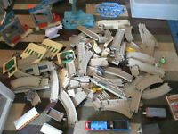 120+ PCE THOMAS BATTERY OPERATED TRACKMASTER TRACK & TRAIN LOT