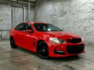 2017 Holden Commodore VF II MY17 SV6 Red 6 Speed Sports Automatic Sedan Mile End South West Torrens Area Preview