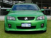 2010 Holden Commodore VE MY10 SS Green 6 Speed Manual Sedan Victoria Park Victoria Park Area Preview