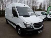 Mercedes-Benz Sprinter 314 MWB High Roof 3.5T EURO 6 DIESEL MANUAL WHITE (2017)