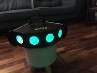 Lex Quadlex 4 beam disco LED lights