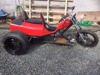 Kawasaki Z 550 Trike (unfinished project)