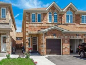 Immaculate Fully Upgraded  Open Concept 4 Bedroom Semi!