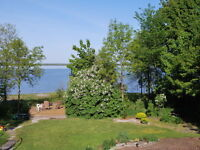 Charming, apartment for rent in riverfront home in Aylmer