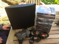 Sony Play Station PS3 – perfect working order with 17 games