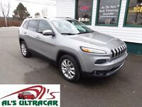 2015 Jeep Cherokee Limited 4x4 only $257 bi-weekly!