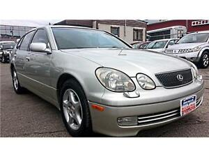 2000 Lexus GS 400  LEATHER, 300hp !!  S-ROOF, Clean Title